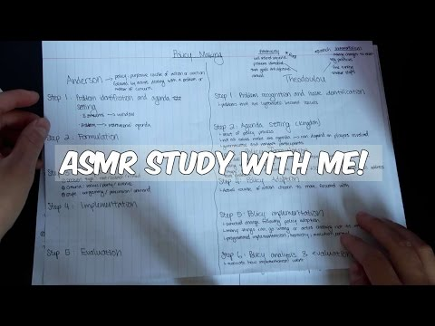 ASMR Study with Me: Education Policy