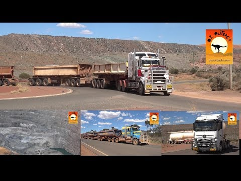 Extreme Trucks #33 - Massive road trains oversize in Kalgoorlie WA
