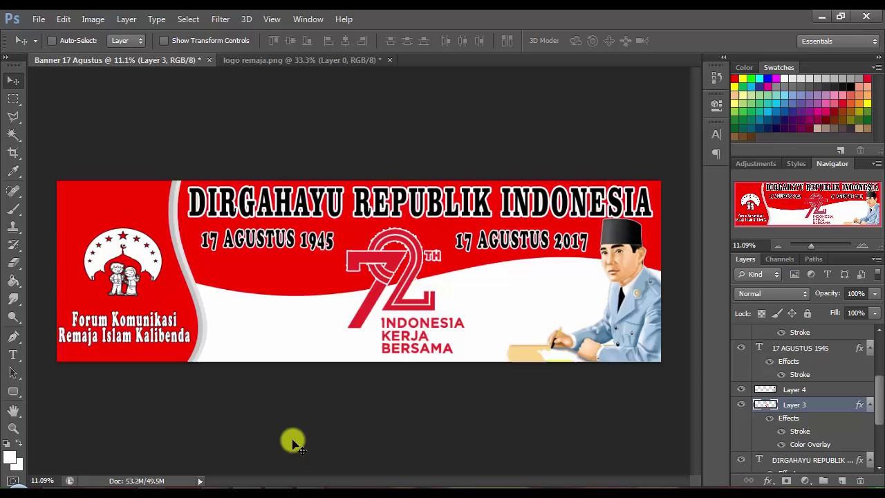 Banner Keren 17 Agustus