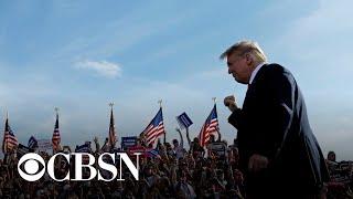 Trump holds rallies despite warnings from health officials of coronavirus surge
