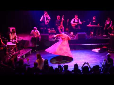Mercan Dede + Azam Ali and The Sufi Red Whirling Dervish, 12.6.2015 , Paradiso Hall, Amsterdam
