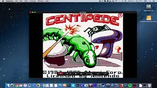 Centipede on MAC? [GBC Emulator Tutorial]