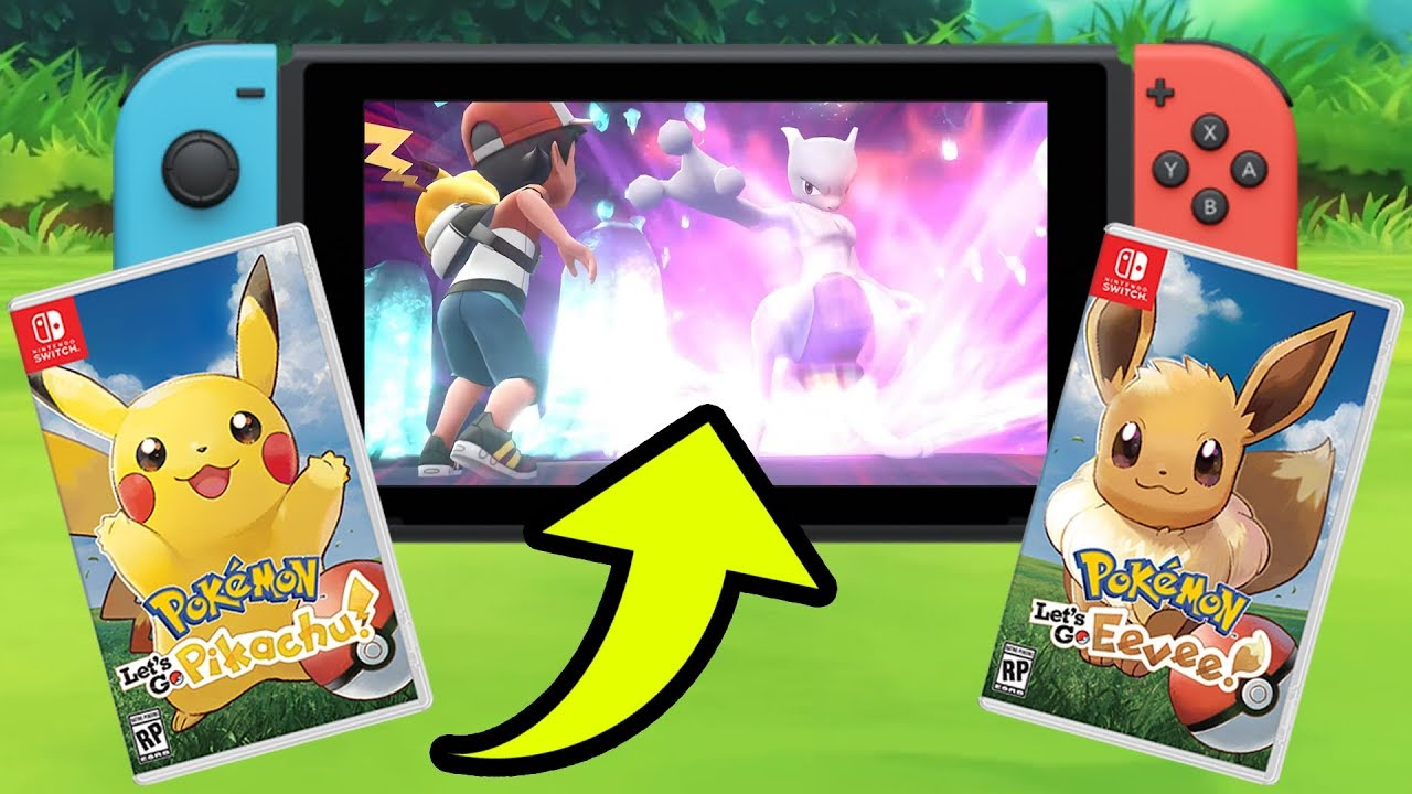 Image result for Pokemon: Let's Go Pikachu / Let's Go Eevee (Switch)