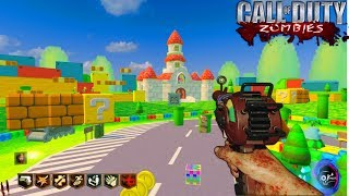 MARIO KART PEACH CIRCUIT CUSTOM ZOMBIES | BLACK OPS 3 MOD TOOLS GAMEPLAY
