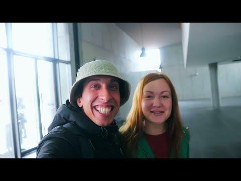 VLOG - LISBONNE  إلتقيت صدفة مع فتاة روسية إسمع الرسالة التي وجهتها إلى المغاربة
