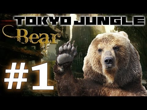Tokyo Jungle: Bear Survive over 100 years  Part 1 of 5