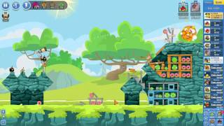 Angry Birds Friends Tournament Mania 2-3 ● LEVEL 4 ● 233 K HD ● Week 204 ●  POWER UP