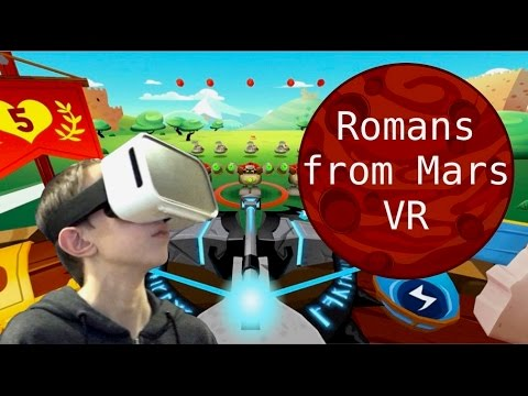 Virtual Reality | MY FAVORITE VR GAME!!! | Romans From Mars 360