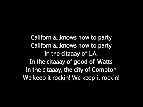 2Pac Ft. Dr. Dre Calfornia Love Lyrics