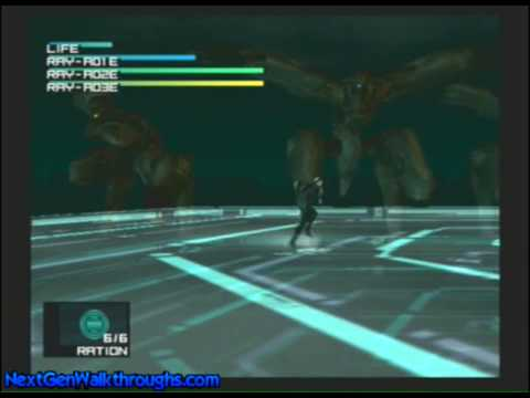 Metal Gear Solid 2 Sons Of Liberty Arsenal Gear Part 5 Ray Battle Youtube