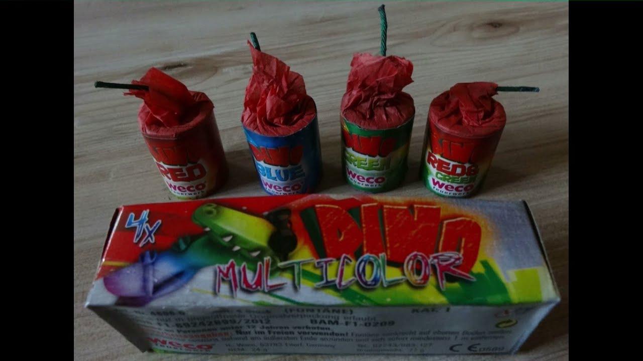 Weco Dino Multicolor Fontänen