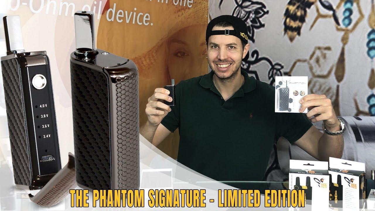 New Vaporizer for 2019 HoneyStick Phantom Signature for Oil & Wax | Best  for 510 Thread Cartridges
