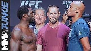 UFC 237: Jared Cannonier vs. Anderson Silva staredown