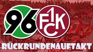 Hannover 96 VS 1. FC Kaiserslautern [RÜCKRUNDENAUFTAKT & SPITZENREITER] #Stadion V-Log