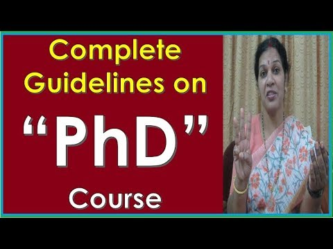 """Complete Guidelines  On  PhD Courses"" - By Dr.Devika Bhatnagar"