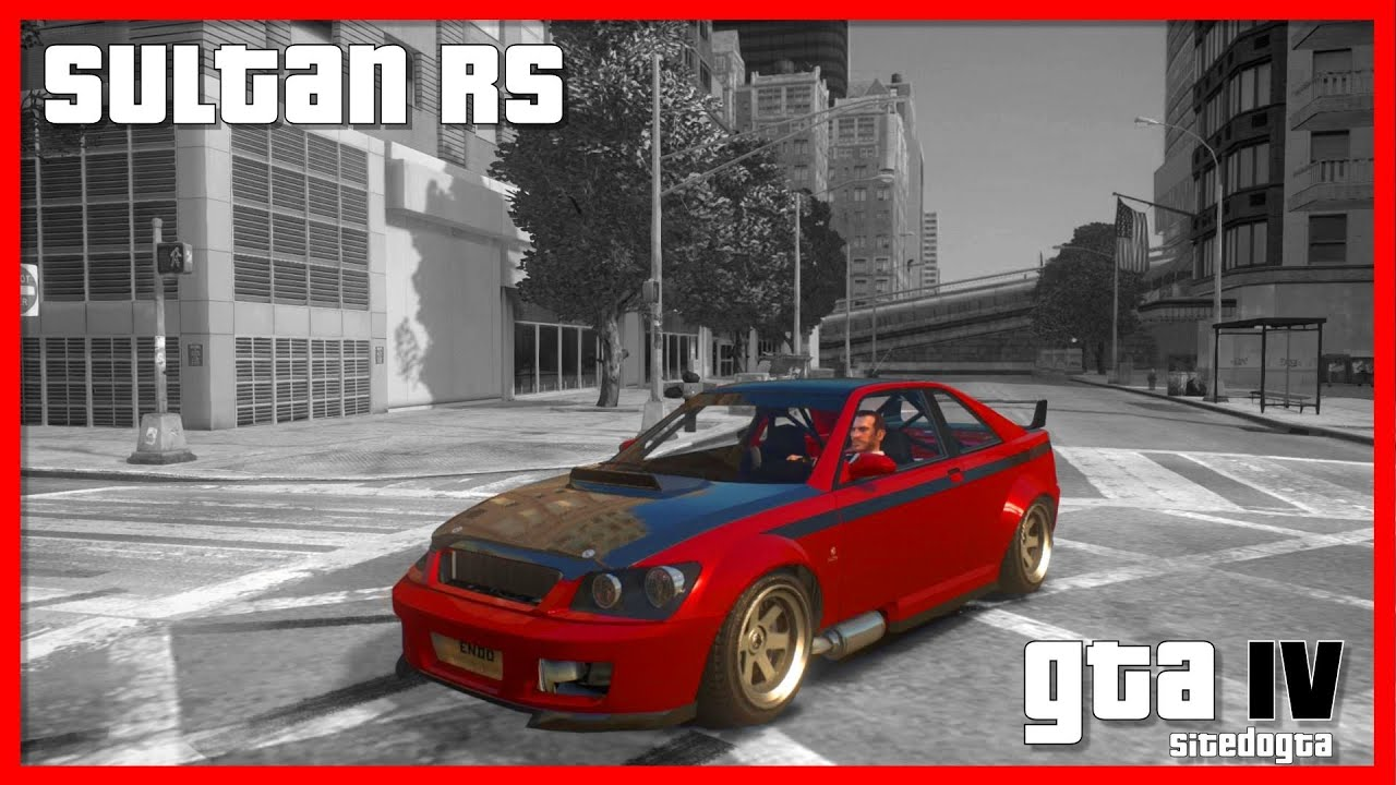 Karin Sultan RS GTA IV Backup - YouTube