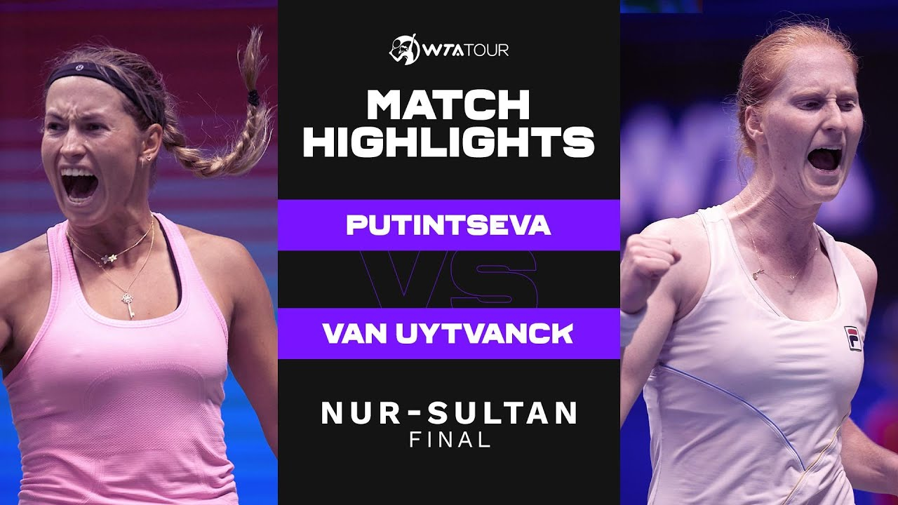 Download Yulia Putintseva vs. Alison Van Uytvanck | 2021 Nur-Sultan Final | WTA Match Highlights