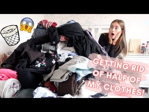 ORGANIZING & DECLUTTERING My Room! DEEP CLEAN With Me!