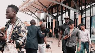 Otile Brown's reception in Eldoret