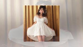 片岡沙耶:人気グラドルがキャミソールをプロデュース 天使の白 小悪魔...