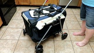 AWESOME PET CARRIER AND STROLLER FROM PETLUV
