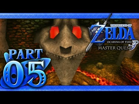 The Legend of Zelda: Ocarina of Time 3D (Master Quest) Part 5 - Dodongo's  Cavern