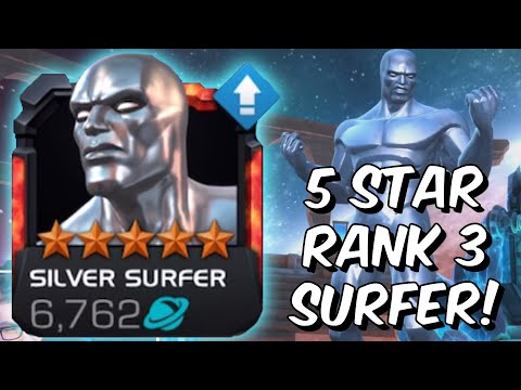 5 Star Rank 3 Silver Surfer Gameplay! - Surprising Act 5 Performance! - Marvel Contest Of Champions