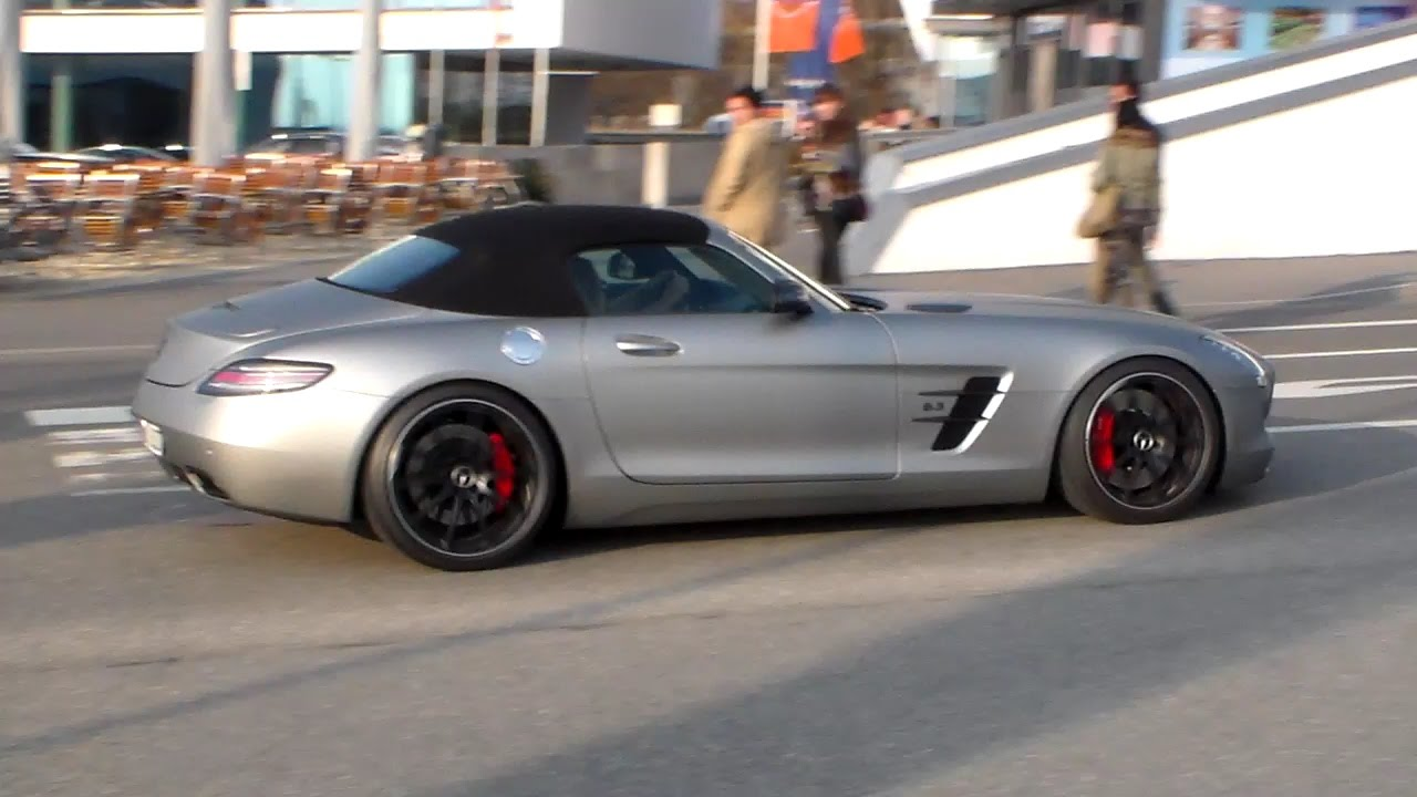 Mercedes sls amg gt roadster downshift lovely sound hd youtube mercedes sls amg gt roadster downshift lovely sound hd publicscrutiny Choice Image