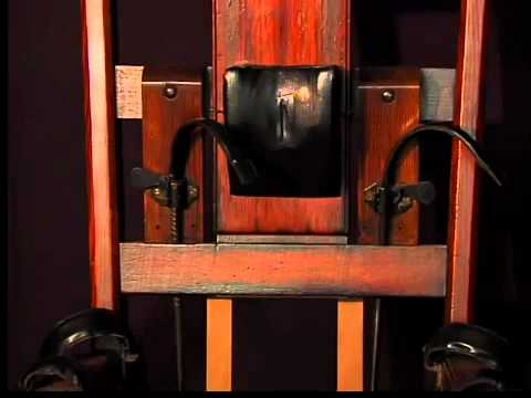 Electric Chair On Display
