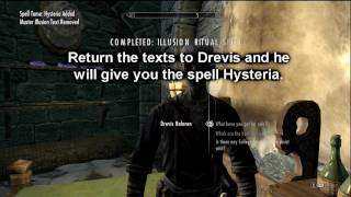 Baixar Skyrim Illusion Ritual Spell Guide - Master Spells and Hidden Text Locations