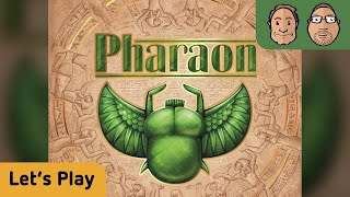 Pharaon - Brettspiel - Let's Play mit Peat & Alex