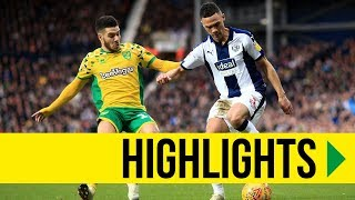 HIGHLIGHTS: West Brom 1-1 Norwich City