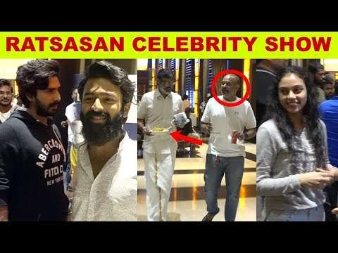 Ratsasan Celebrity show   #VishnuVishal #Amalapaul #RamKumar #Kollywood #kalakkalcinema