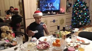 #292 Празднуем 2018 Новый год в Москве. ВЛОГ. Встреча нового года. Весело.