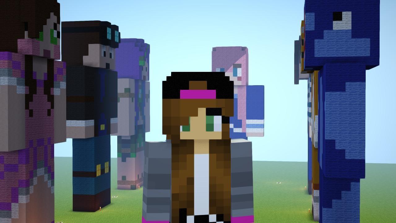 YouTuber Minecraft Skins YouTube - Skin de youtuber para minecraft