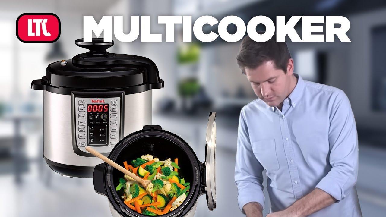 Demostración robot de cocina Multicooker estofado de carne - YouTube