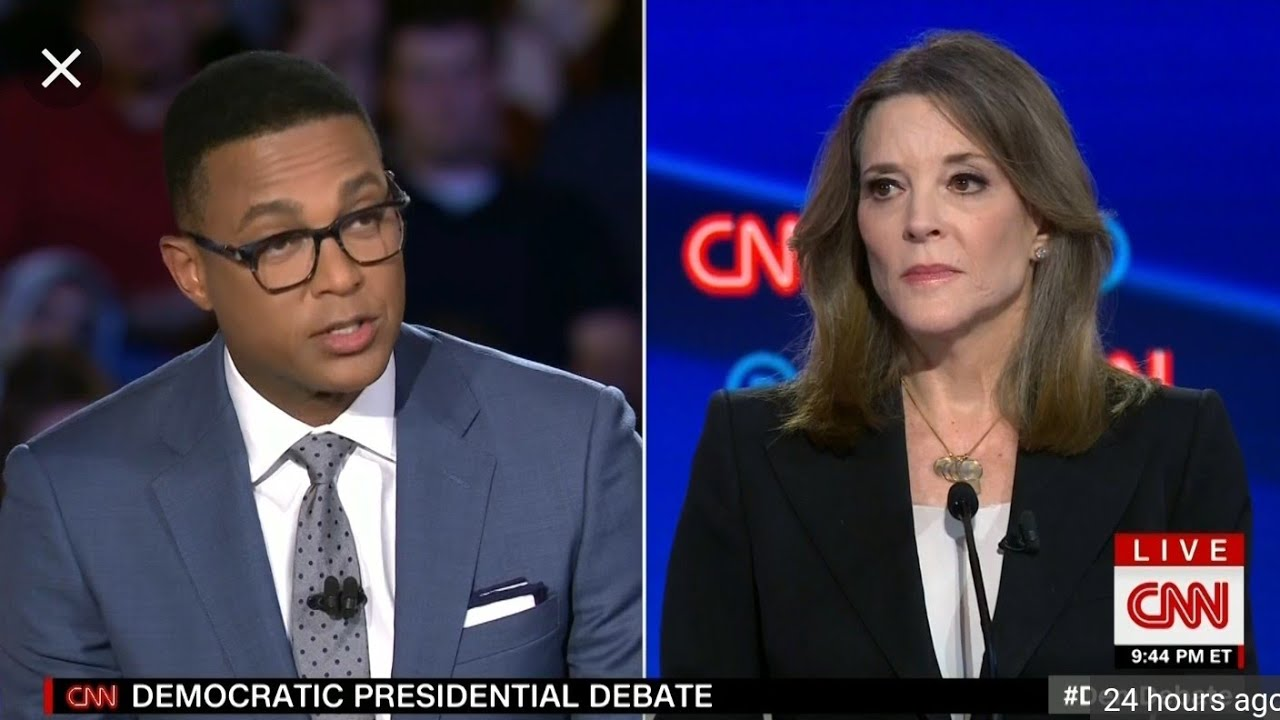 2nd Democratic debate ADOS and Marianne Williamson