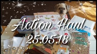 Action HAUL 25.05.18 { Embossing Sticker, Blöcke, Home, Nützliches... }