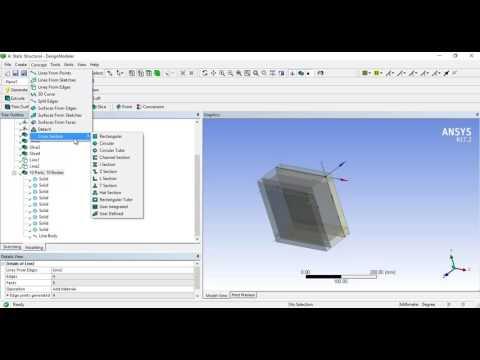 Modelling of Concrete Beam (Implicit) Part I