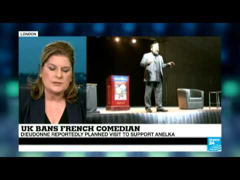 UK: French comedian Dieudonné banned from UK