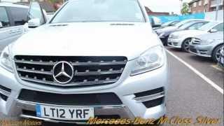 2013 Mercedes-Benz M-Class Silver