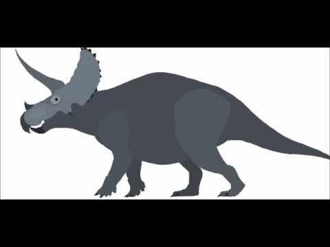 Triceratops vs Megalosaurus