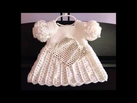 Vestido de croch para bebe youtube - Traje de duende para nino ...