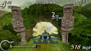 M.A.C.H. Modified Air Combat Heroes PSP Gameplay