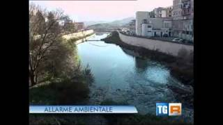 In diminuzione la nube tossica di Ceccano (FR) - Tgr Lazio 5 genn.2011