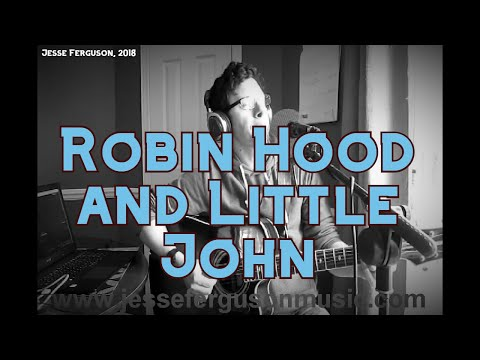 Robin Hood and Little John (Child #125)