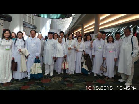 Đại hội Tôn Giáo Thế Giới 2015 tại Salt Palace Convention Center, Salt Lake City, Utah
