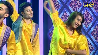 Jassi Gill Bhangra Dance Performance In Voice Of Punjab Chhota Champ 2 Grand Finale Event