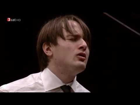 Trifonov plays Liszt's Transcendental Études in Lyon France