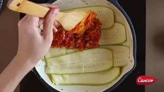 Рецепт приготовления лазаньи из кабачков с фаршем из индейки
